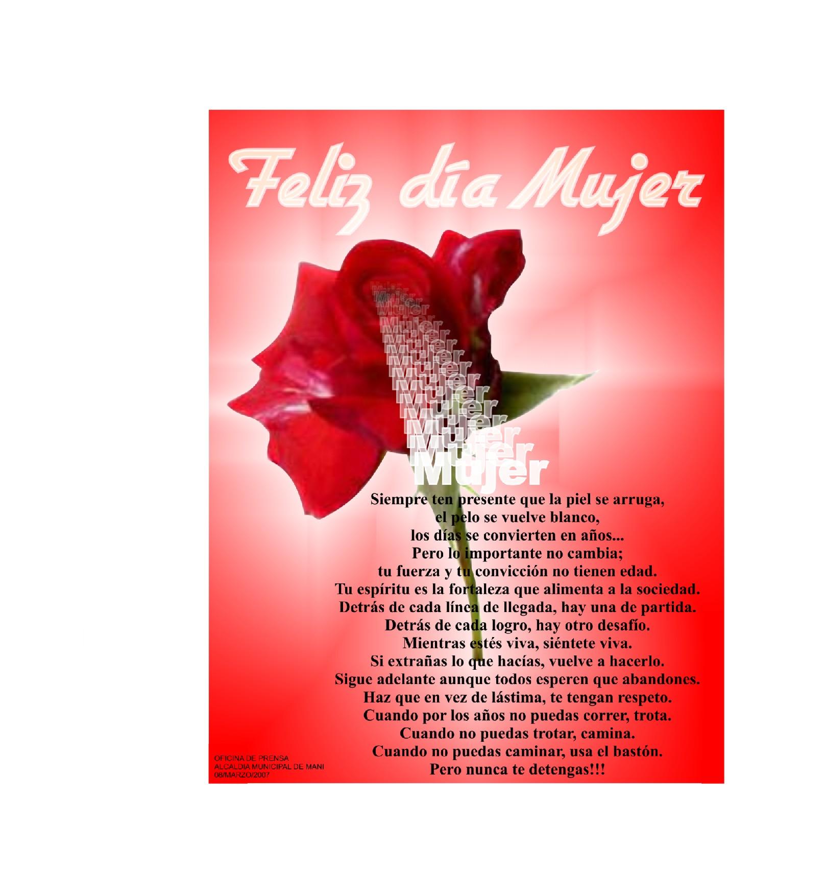 Imagenes Dia Internacional De La Mujer